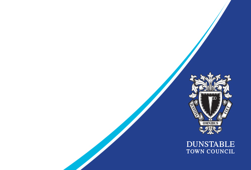 Dunstable Town Council - Corner Logo Image Overlay