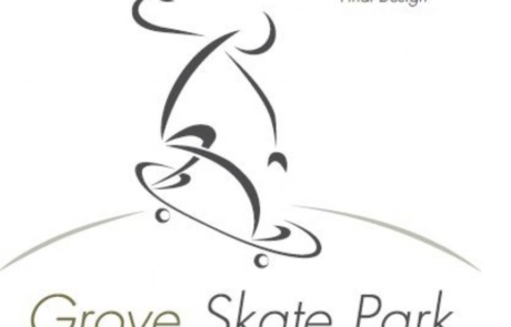 Dunstable Skate Park Logo Prospect - Final Design