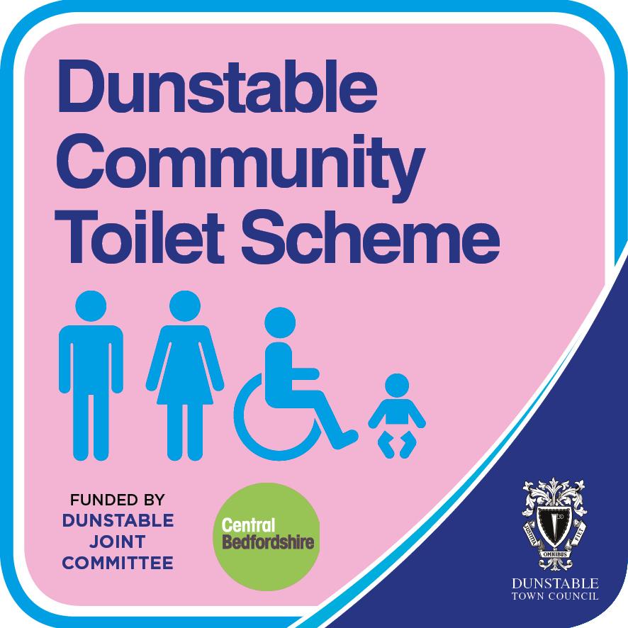 Dunstable Community Toilet Scheme logo