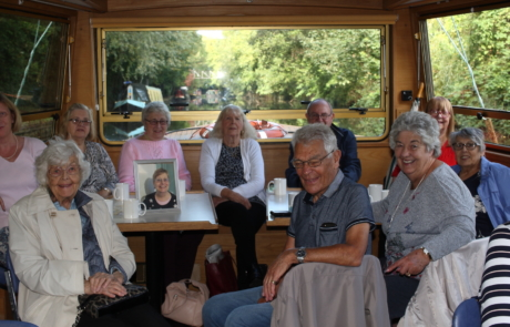 Boat trip for the Creasey Park Lunch Club
