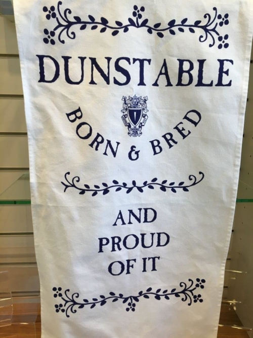 Dunstable Born & Bred Tea Towel