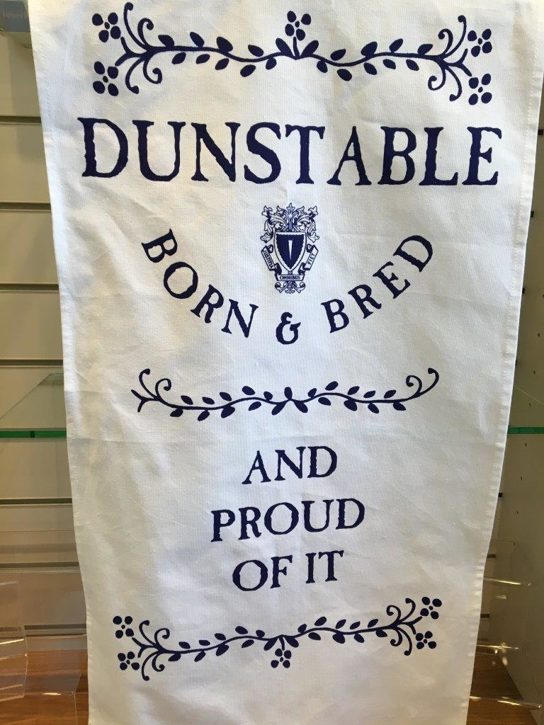 Dunstable Born & Bred Tea Towel