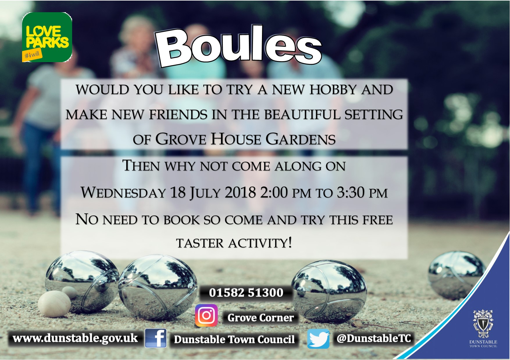 Boules poster