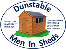 Dunstable Men in Sheds logo