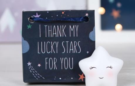 Lucky Stars Charm and bag