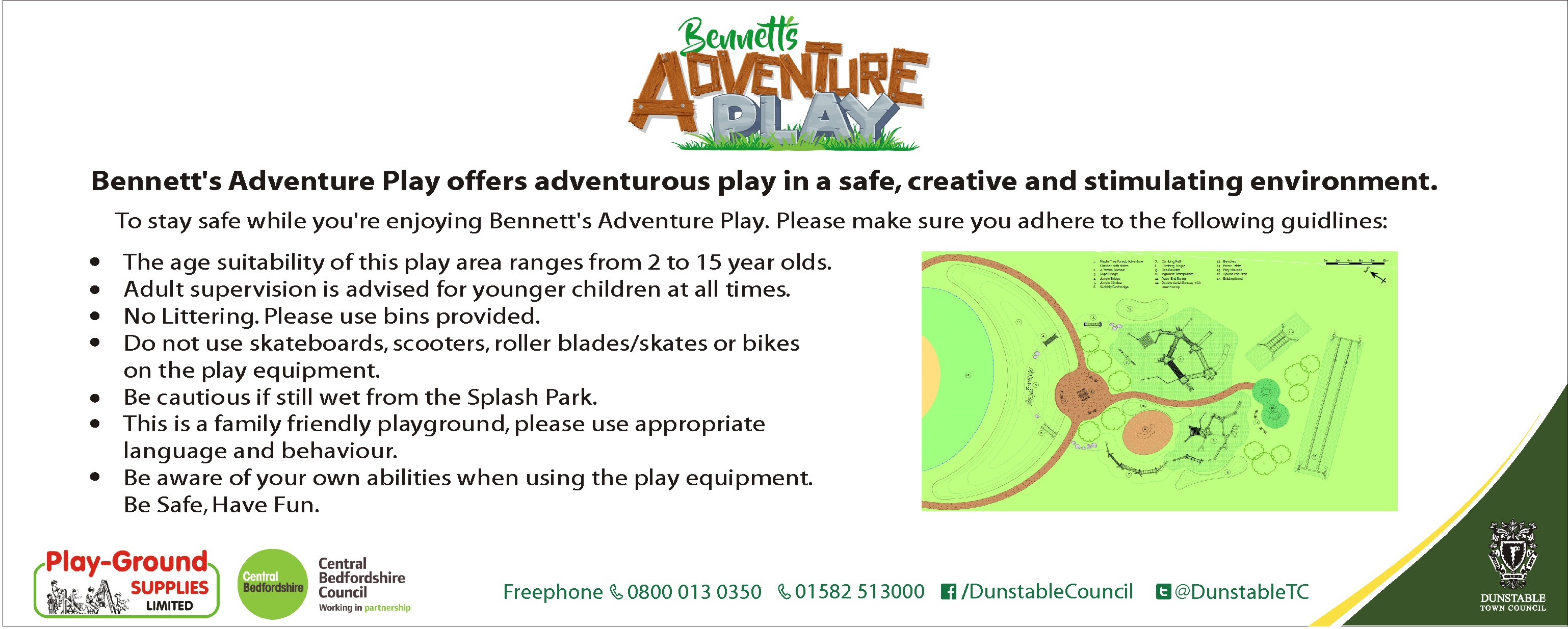 Adventure Play Guidelines