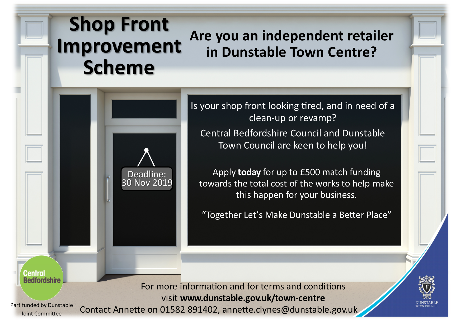 Dunstable Shop Front Improvement Scheme