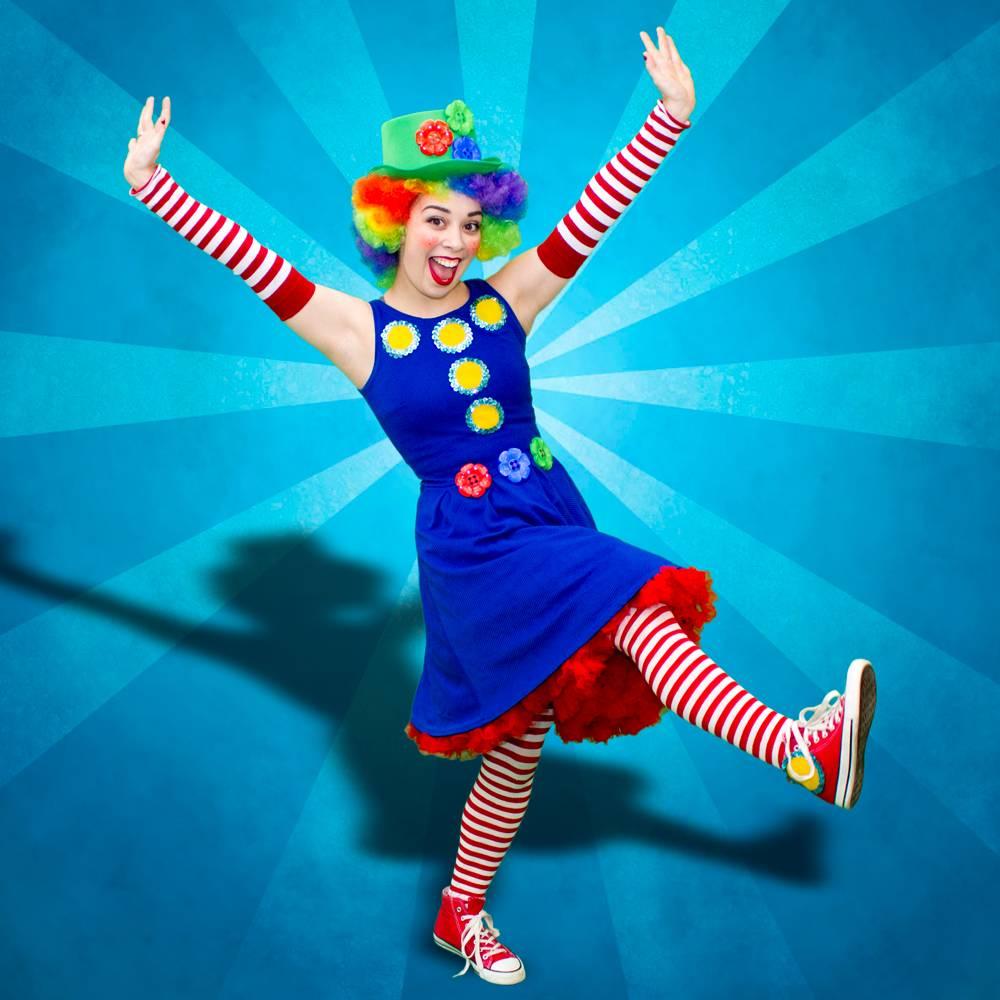 Clown Bubble Performer