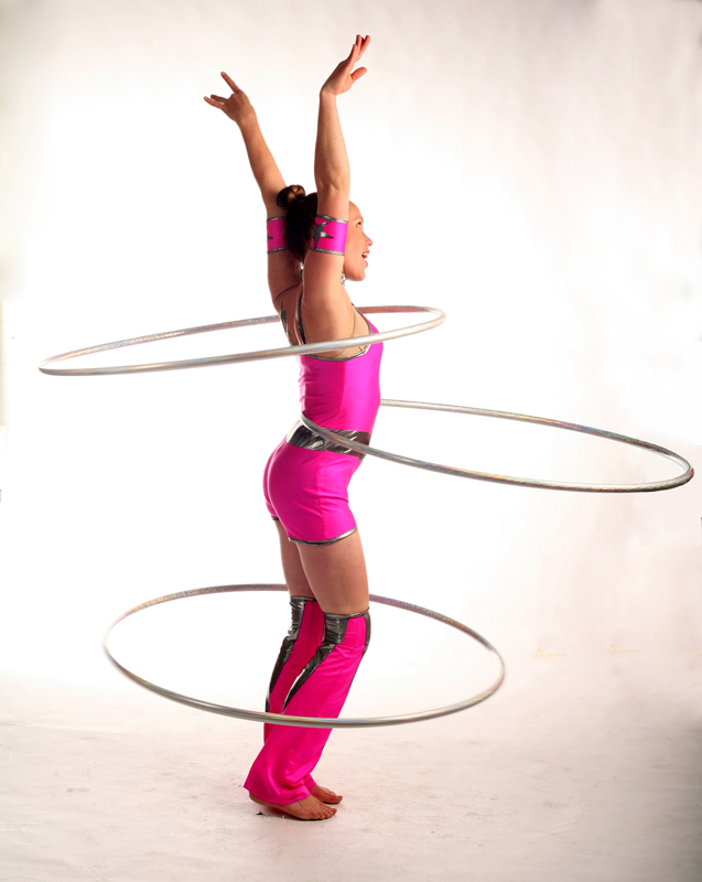 hula hoop artiste
