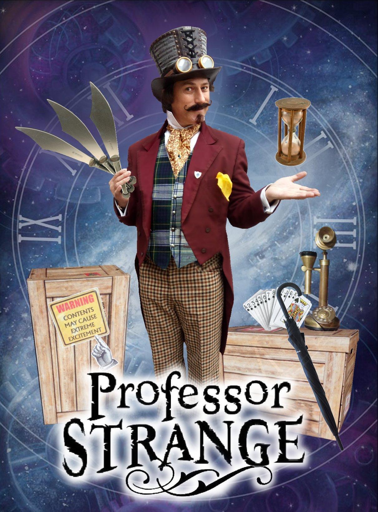 Professor Strange - Magical street theatre
