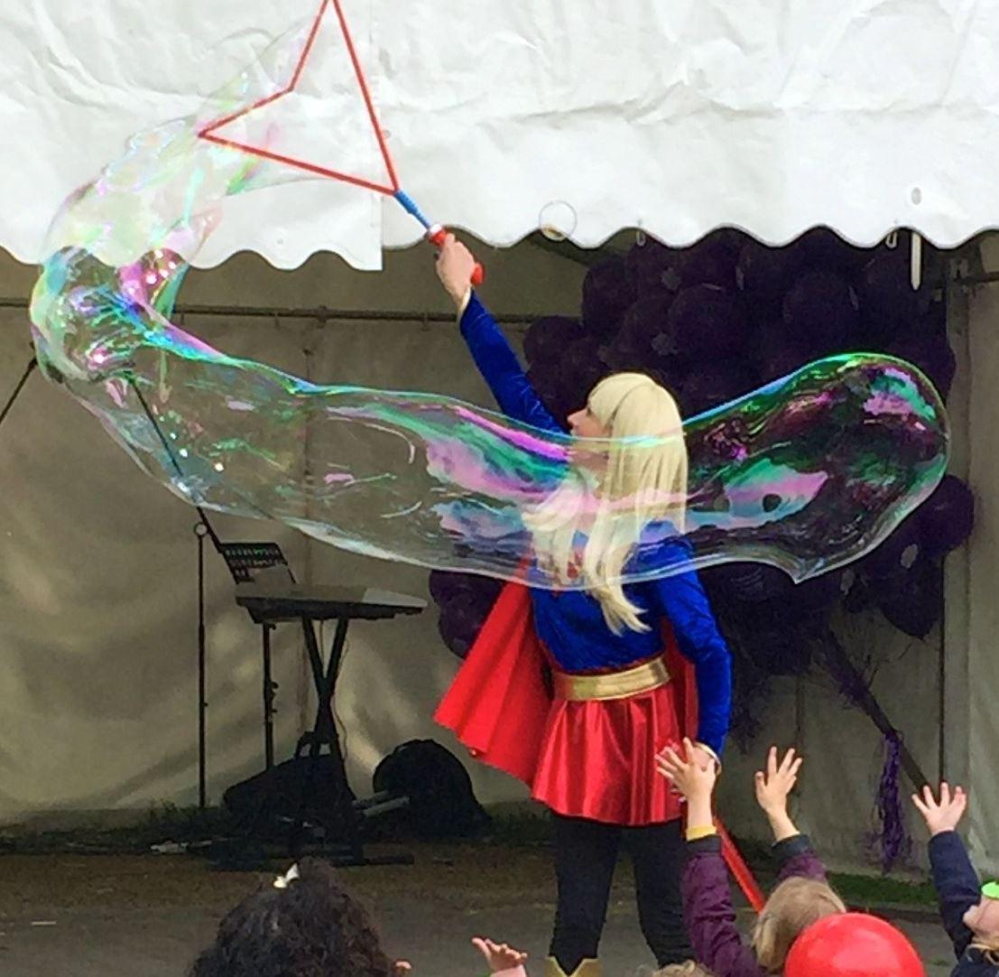 Superhero Bubbles