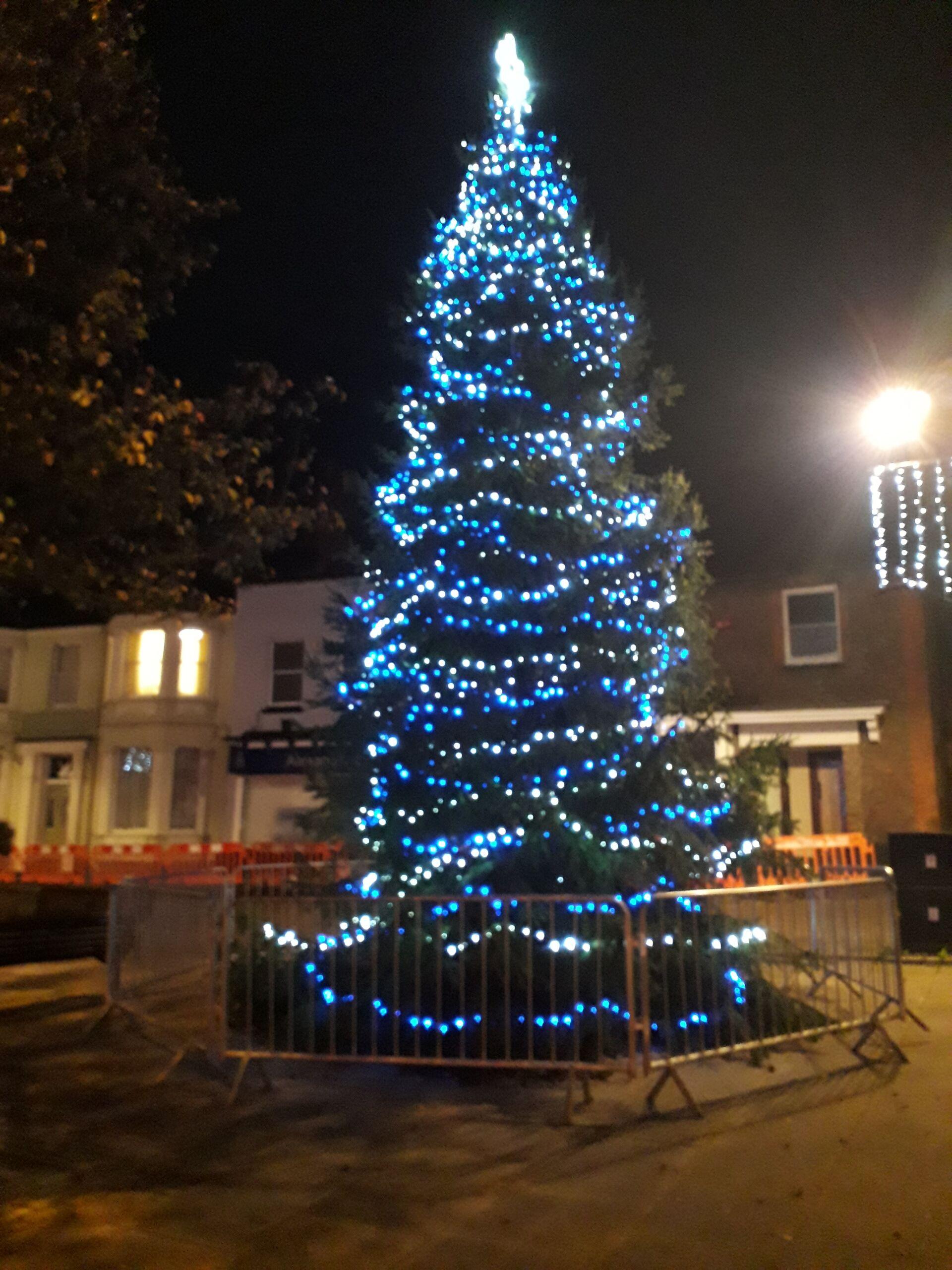 Dunstable Christmas tree