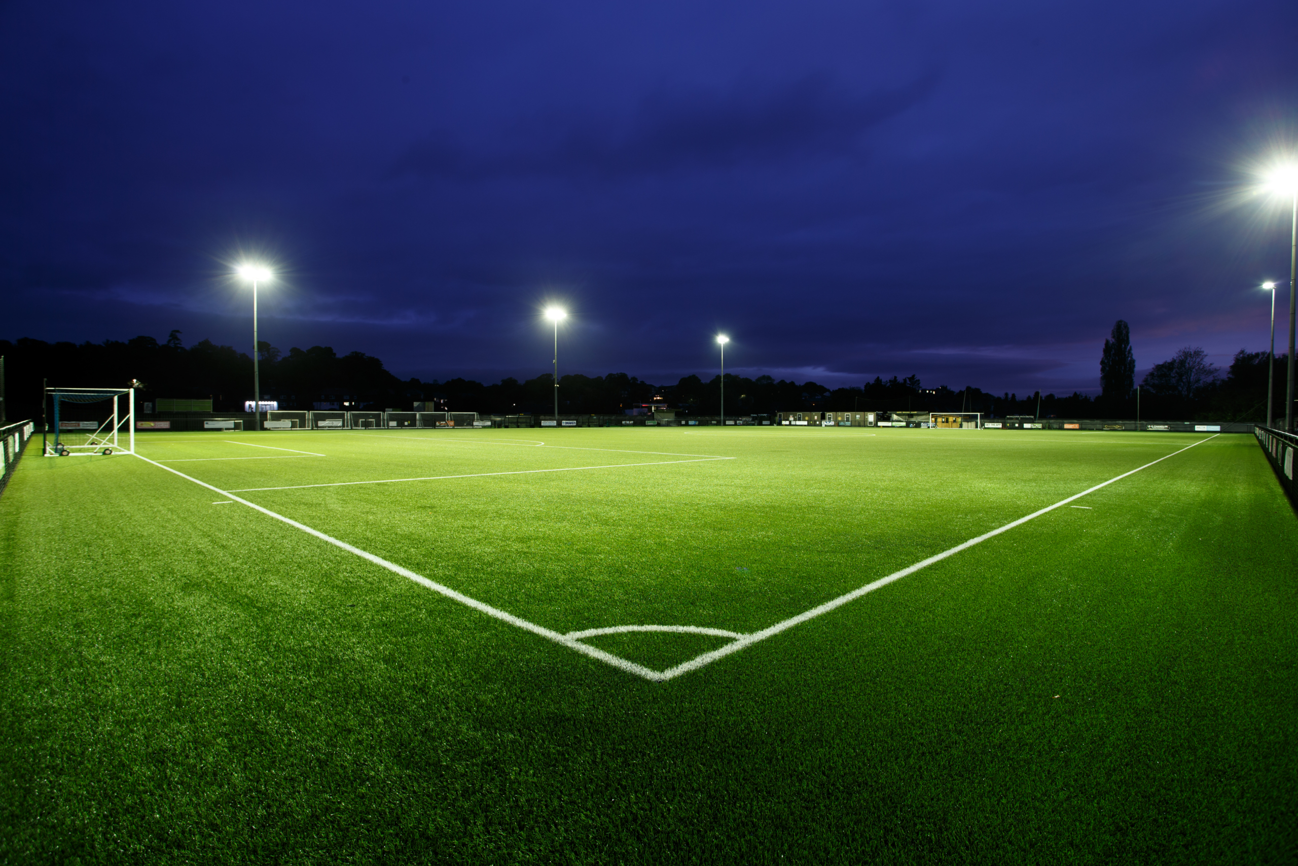 Creasey Park Community Football Centre's all-weather pitch