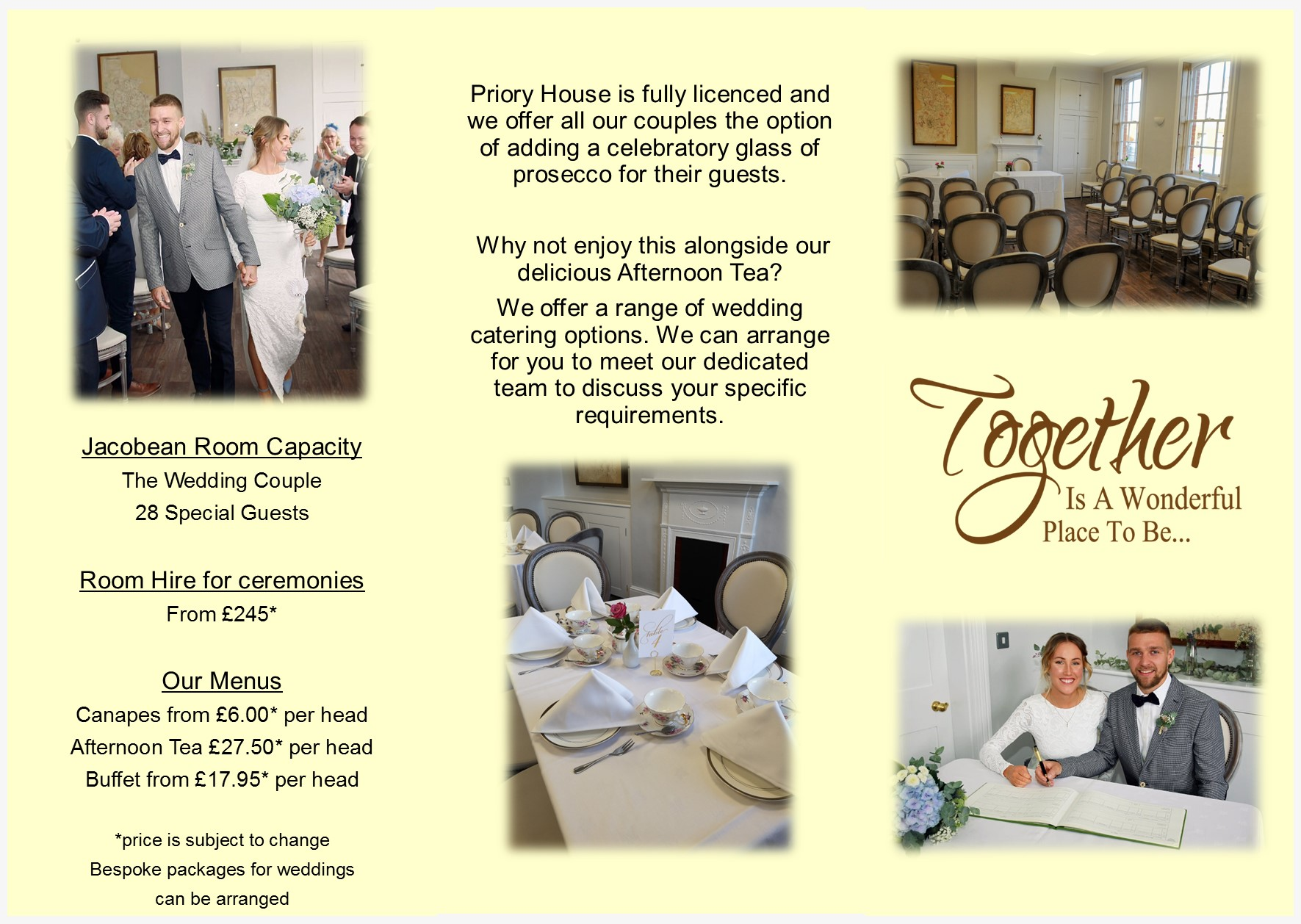 Promote Weddings